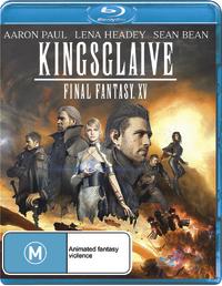 Kingsglaive: Final Fantasy XV on Blu-ray
