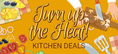 Turn Up the Heat! HOT Kitchen Deals!