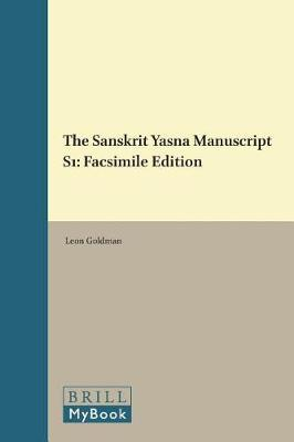 The Sanskrit Yasna Manuscript S1 by Leon Goldman image