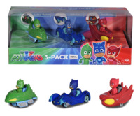Pj Masks: Die-Cast Mini-Vehicle Set - 3-Pack