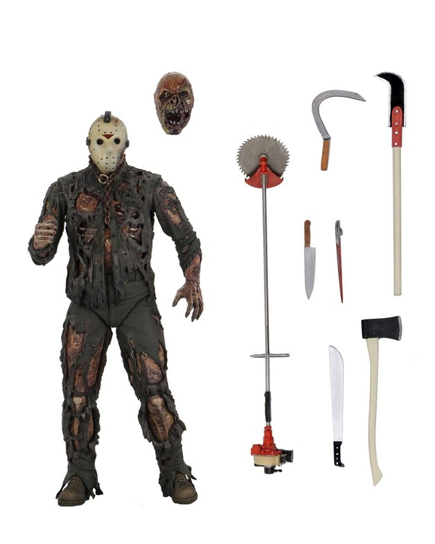"""Friday the 13th: Jason (New Blood) - 7"""" Action Figure"""