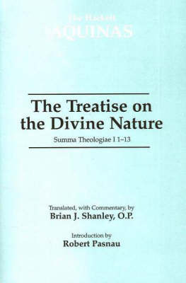 The Treatise on the Divine Nature by Thomas Aquinas image