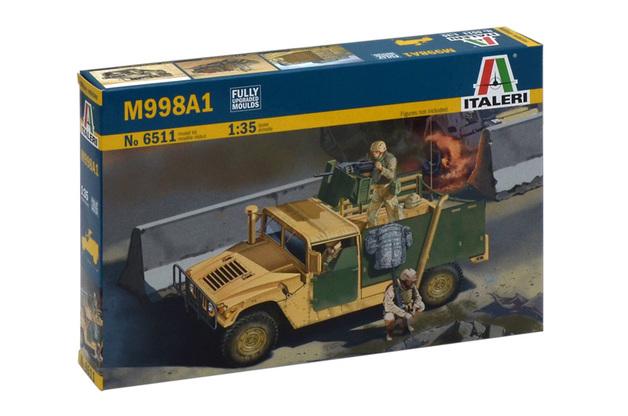 Italeri 1:35 M998A1 Up-Armoured Humvee Model Kit