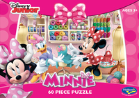 Holdson: Minnie Mouse 60pc Boxed Puzzle - Made With Love
