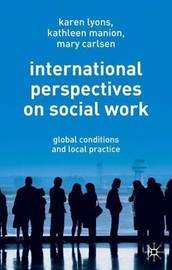 International Perspectives on Social Work by Karen Lyons image