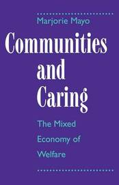 Communities and Caring by Marjorie Mayo image