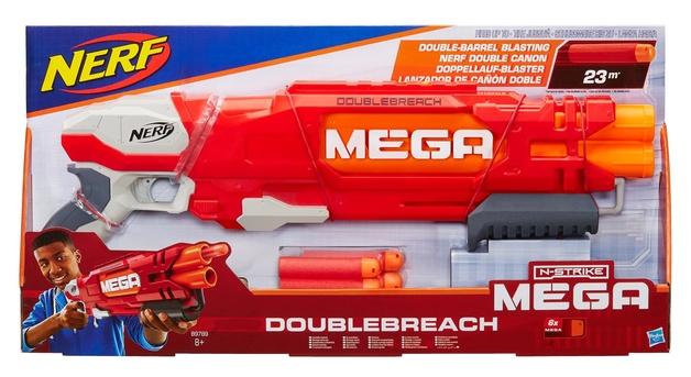 Nerf: N-Strike Elite - Mega Double-Breach Blaster