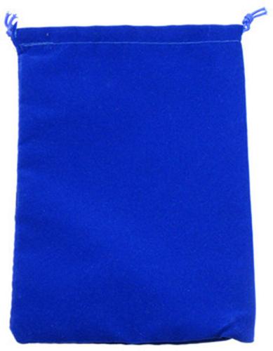 Suede Cloth Dice Bag (Small, Royal Blue) image