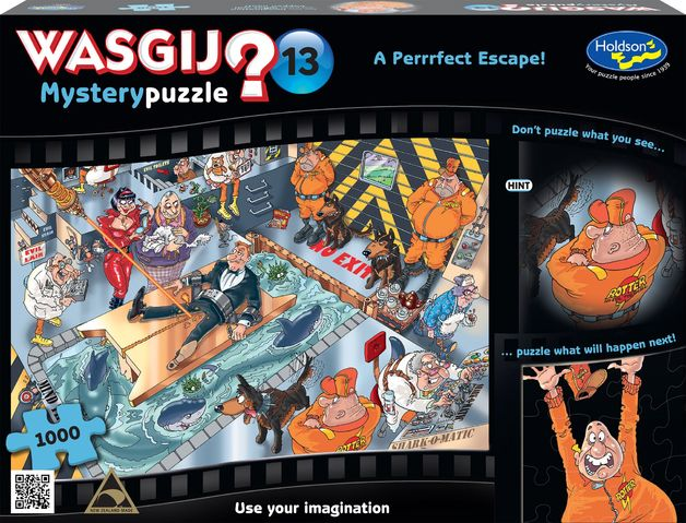 Wasgij  13 - Mystery A Purrfect Escape 1000 Piece Puzzle  5cd12fe22