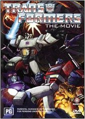 Transformers - The Movie on DVD