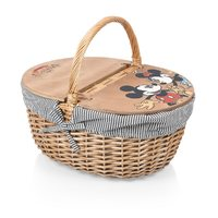 Mickey and Minnie Mouse Country Picnic Basket