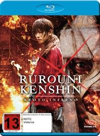 Rurouni Kenshin Kyoto Inferno on Blu-ray