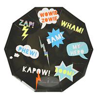 Meri Meri - Zap Large Plate (8 Pack)