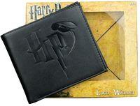 Harry Potter: Logo Embossed - Black Wallet