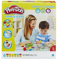 Play-Doh: Shape & Learn - Letters & Languages
