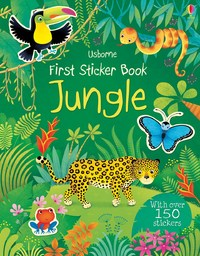 First Sticker Book Jungle by Alice Primmer