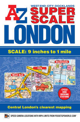 Super Scale London Street Atlas by Geographers A-Z Map Company image
