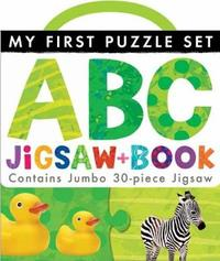 My First Puzzle Set: ABC Jigsaw and Book by Little Tiger Press