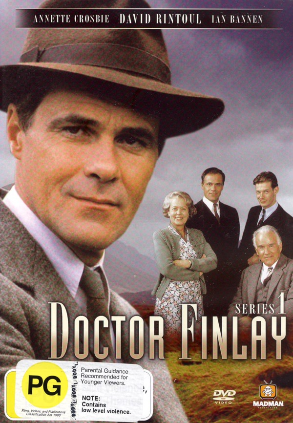 Doctor Finlay - Series 1 (2 Disc Set) on DVD image