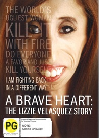 A Brave Heart - The Lizzie Velasquez Story on DVD