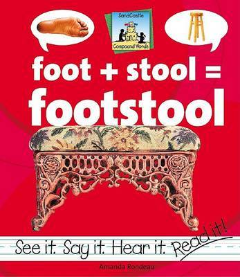 Foot+Stool=Footstool by Amanda Rondeau
