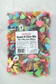 Nowco Sweet & Sour Lolly Mix Bulk Bag 1.9kg