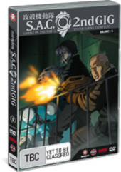 Ghost in the Shell: Stand Alone Complex 2nd Gig - Vol 5 on DVD