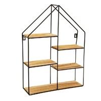 Sass & Belle: Large Black House Shelf
