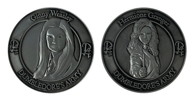 Harry Potter: Collectible Coin - Hermione and Ginny (2-Pack)