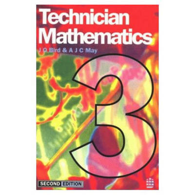 Technician Mathematics: Level 3 by John O. Bird image