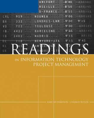 Readings in Information Technology Project Management for Schwalbe's Information Technology Project Management by Gary L. Richardson image