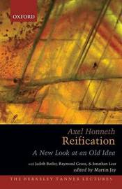 Reification by Axel Honneth image