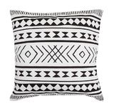 General Eclectic Cushion - Maya (B&W)