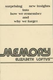 Memory by Elizabeth F. Loftus