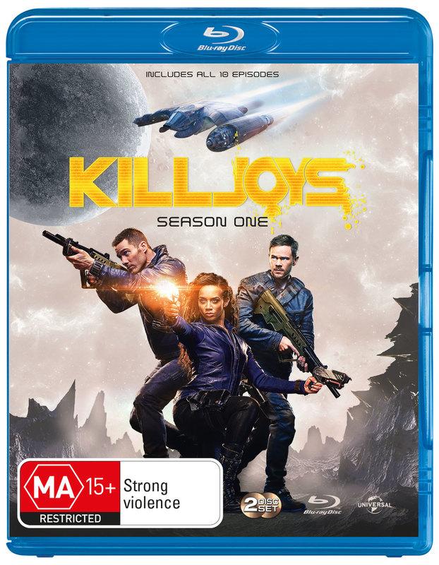 Killjoys - Season One on Blu-ray