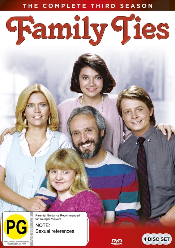 Family Ties - The Complete Third Season on DVD