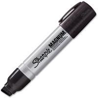 Sharpie: Magnum Chisel Tip Permanent Marker - Black