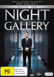 Night Gallery - Season One on DVD