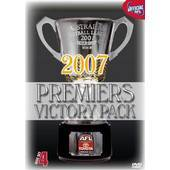 AFL - 2007 Premiers Victory Pack (4 Disc Box Set) on DVD
