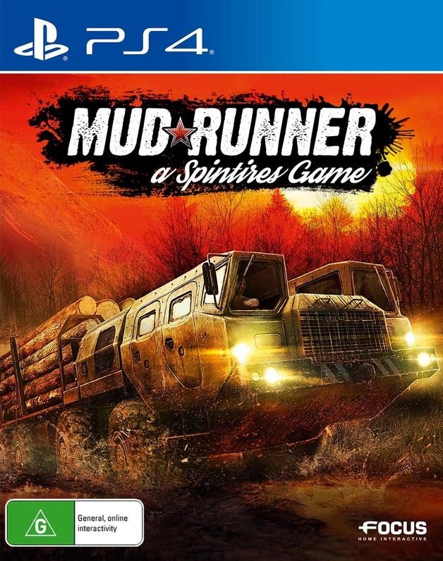 Spintires: Mudrunner for PS4