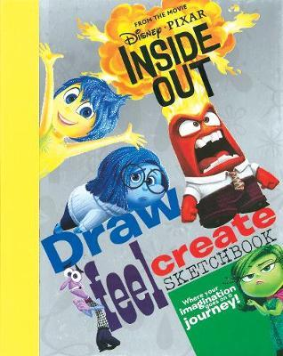 Disney Pixar Inside Out Draw, Feel, Create Sketchbook by Parragon Books Ltd image