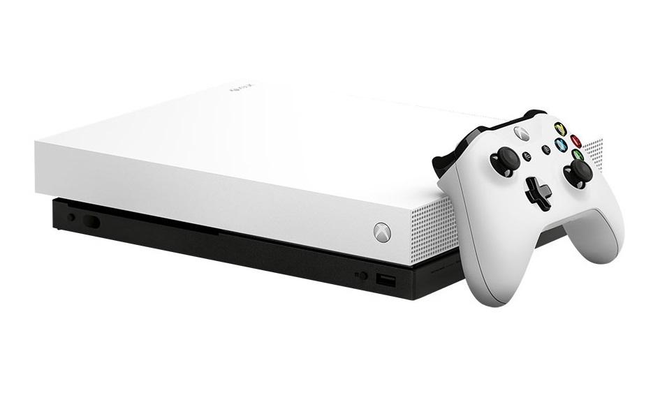 Xbox One X 1TB Forza Horizon 4 Console Bundle - White