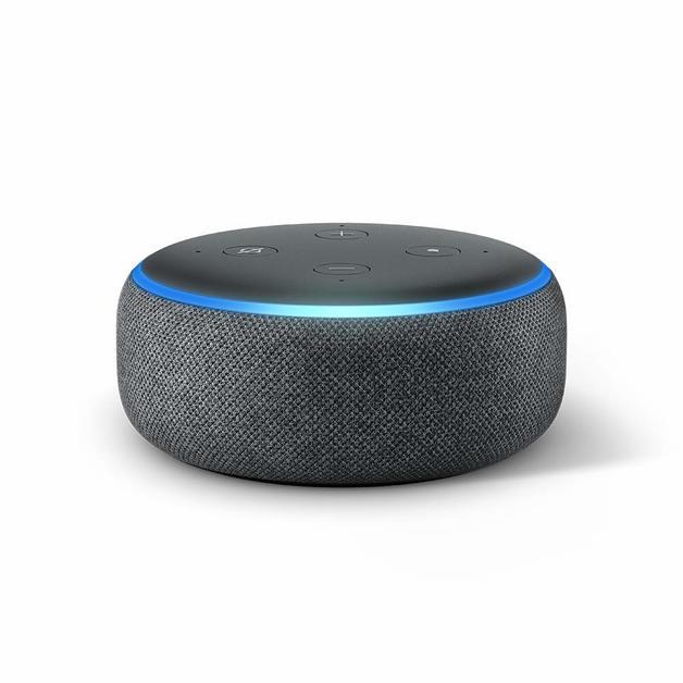 Amazon: Echo Dot 3rd Generation/Speaker - Charcoal