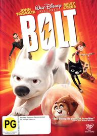 Bolt on DVD