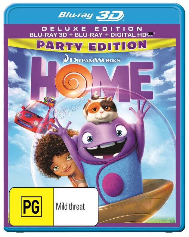 Home on Blu-ray, 3D Blu-ray
