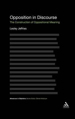 Opposition In Discourse by Lesley Jeffries image