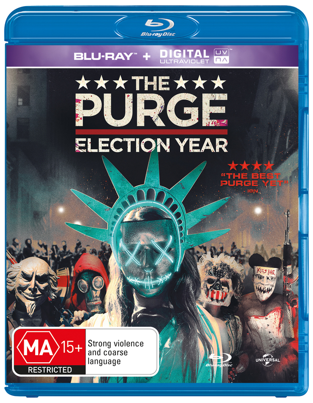 The Purge 3: Election Year on Blu-ray