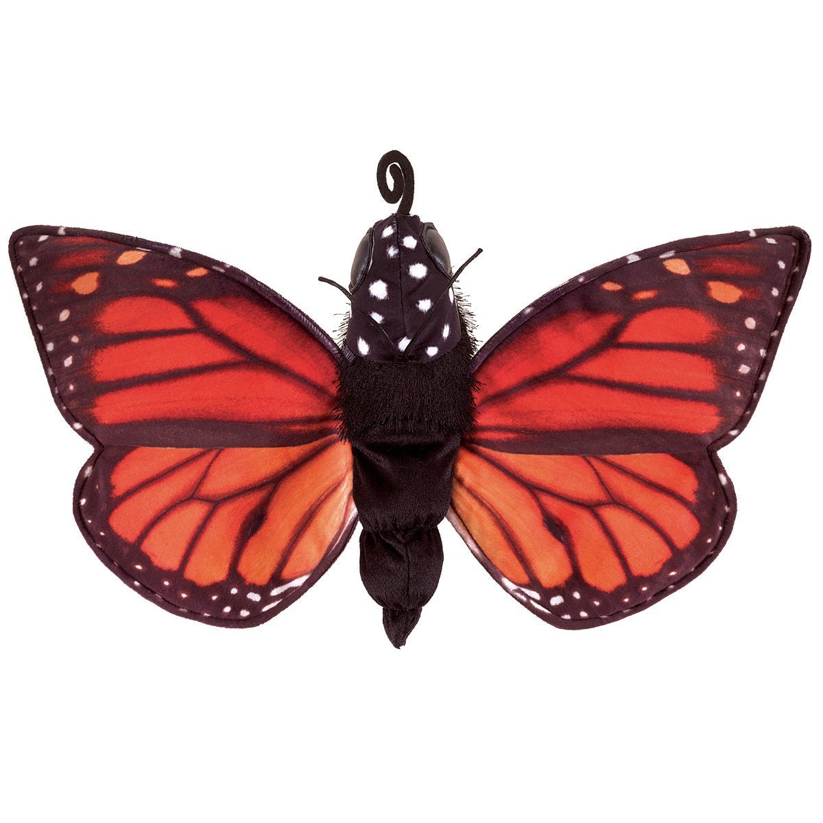 Folkmanis Hand Puppet - Monarch Butterfly Life Cycle image