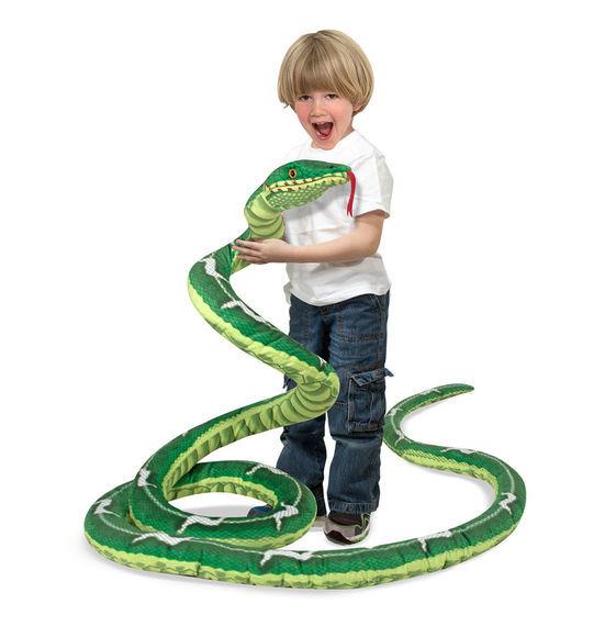 Melissa & Doug: Jumbo Stuffed Snake