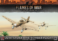 Flames of War: Afrika Korps - Ju 87 Stuka Dive Bomber Flight